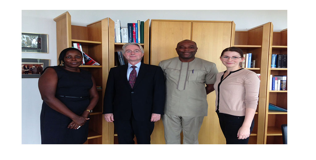 NEST Signs Project Contract  With German Embassy to Implement water & satantion Project in Orile-Owu commnuty Osun State Nigeria
